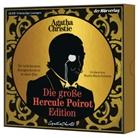 Agatha Christie, Martin Maria Schwarz - Die große Hercule-Poirot-Edition, 12 Audio-CDs (Hörbuch)