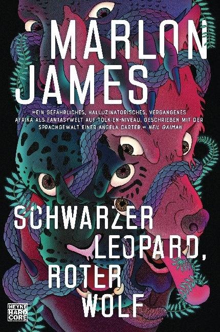 Marlon James - Schwarzer Leopard, roter Wolf - Roman