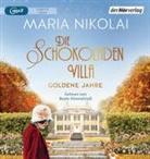 Maria Nikolai, Beate Himmelstoß - Die Schokoladenvilla - Goldene Jahre, 2 Audio-CD, MP3 (Hörbuch)