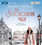 Maria Nikolai, Beate Himmelstoß - Die Schokoladenvilla, 1 Audio-CD, MP3 (Hörbuch)
