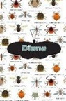 Rob Cole - Diana: Bug Insect Isometric Dot Pape Book Notebook Journal Book 120 Pages 6x9