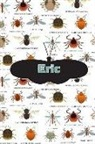 Rob Cole - Eric: Bug Insect Isometric Dot Pape Book Notebook Journal Book 120 Pages 6x9