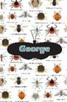 Rob Cole - George: Bug Insect Isometric Dot Pape Book Notebook Journal Book 120 Pages 6x9