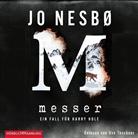 Günther Frauenlob, Jo Nesbø, Günther Frauenlob, Uve Teschner - Messer, 2 MP3-CD (Hörbuch)