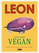 Rebecc Seal, Rebecca Seal, Chantal Symons, Joh Vincent, John Vincent - Leon Fast Food Vegan