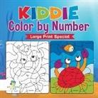 Educando Kids - Kiddie Color by Number Large Print Special