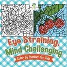 Educando Kids - Eye Straining, Mind Challenging Color by Number for Kids