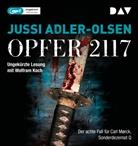 Jussi Adler-Olsen, Wolfram Koch - Opfer 2117, 2 Audio-CD, (Hörbuch)