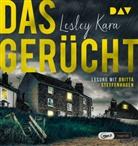 Lesley Kara, Britta Steffenhagen - Das Gerücht, 1 Audio-CD, MP3 (Hörbuch)