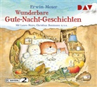 Burchard Dabinnus, Erwin Moser, Christian Baumann, Burchard Dabinnus, Thomas Loibl, Laura Maire... - Wunderbare Gute-Nacht-Geschichten, 1 Audio-CD (Hörbuch)