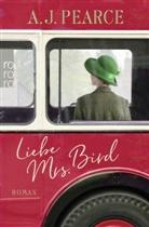 A J Pearce, A.J. Pearce, AJ Pearce - Liebe Mrs. Bird
