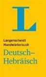 Redaktion Langenscheidt, Langenscheid Redaktion - Langenscheidt Handwörterbuch Deutsch-Hebräisch