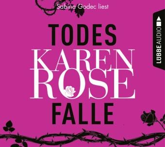 Karen Rose, Sabina Godec - Todesfalle, 6 Audio-CDs (Hörbuch) - Die Baltimore-Reihe, Teil 5. , Lesung. CD Standard Audio Format. Gekürzte Ausgabe