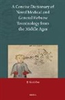 Gerrit Bos - A Concise Dictionary of Novel Medical and General Hebrew Terminology from the Middle Ages