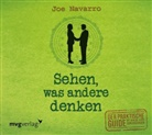 Joe Navarro, Markus Böker - Sehen, was andere denken, 1 Audio-CD (Hörbuch)