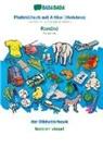 Babadada Gmbh - BABADADA, Plattdüütsch mit Artikel (Holstein) - Româna, dat Bildwöörbook - lexicon vizual