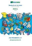 Babadada GmbH - BABADADA, Deutsch mit Artikeln - ceStina, das Bildwörterbuch - obrazový slovník - German with articles - Czech, visual dictionary