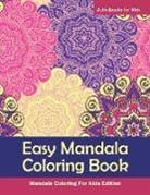 Activibooks For Kids - Easy Mandala Coloring Book