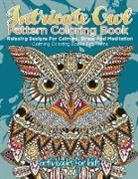 Activibooks For Kids - Intricate Owl Pattern Coloring Book