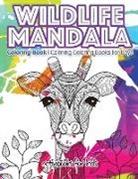 Activibooks For Kids - Wildlife Mandala Coloring Book