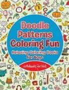 Activibooks For Kids - Doodle Patterns Coloring Fun