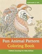 Activibooks For Kids - Fun Animal Pattern Coloring Book - Pattern Coloring For Kids Edition