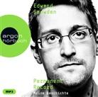 Edward Snowden - Permanent Record, 2 Audio-CD, MP3 (Hörbuch)