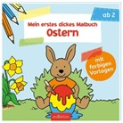Corina Beurenmeister - Mein erstes dickes Malbuch Ostern