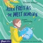 Viviana Mazza, Leonie Landa - Jeden Freitag die Welt bewegen - Gretas Geschichte, 1 Audio-CD (Hörbuch)