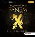 Suzanne Collins, Uve Teschner - Die Tribute von Panem X. Das Lied von Vogel und Schlange, 2 Audio-CD, MP3 (Hörbuch)
