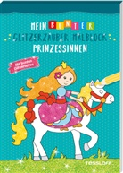 Sandra Schmidt, Sandra Schmidt - Mein bunter Glitzerzauber Malblock: Prinzessinnen