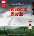 Nina Ohlandt, Reinhard Kuhnert - Friesische Morde, 2 Audio-CD, MP3 (Hörbuch)