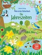 Holly Bathie, Jean Claude - Mein erstes Stickerbuch: Die Jahreszeiten