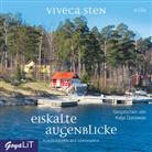 Viveca Sten, Katja Danowski - Eiskalte Augenblicke, 4 Audio-CD (Hörbuch)