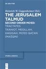 Heinrich W. Guggenheimer, Heinric W Guggenheimer - Tractates Ta'aniot, Megillah, Hagigah and Mo'ed Qatan (MaSqin)