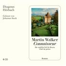 Martin Walker, Johannes Steck - Connaisseur, 8 Audio-CD (Hörbuch)