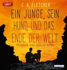 C A Fletcher, C. A. Fletcher, C.A. Fletcher, Wanja Mues - Ein Junge, sein Hund und das Ende der Welt, 2 Audio- CD, MP3 (Hörbuch)