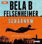 Bela B Felsenheimer, Bela B Felsenheimer - Scharnow, 2 Audio-CD, MP3 (Hörbuch)