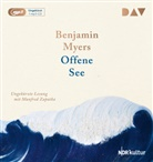 Benjamin Myers, Manfred Zapatka - Offene See, 1 Audio-CD, (Hörbuch)