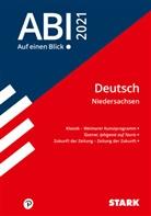 Abi - auf einen Blick! Deutsch Niedersachsen 2021