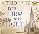 Astrid Fritz, Svenja Pages - Der Turm aus Licht, 2 Audio-CD, MP3 (Hörbuch)