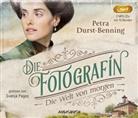 Petra Durst-Benning, Svenja Pages - Die Fotografin - Die Welt von Morgen, 2 Audio-CD, MP3 (Hörbuch)