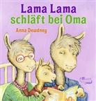 Anna Dewdney, Anna Dewdney - Lama Lama schläft bei Oma
