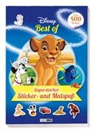 Panini - Disney Best of: Superstarker Sticker- und Malspaß