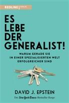 David Epstein - Es lebe der Generalist!