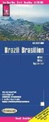 Reise Know-How Verlag Peter Rump - Reise Know-How Landkarte Brasilien / Brazil (1:3.850.000)