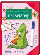 Christine Mildner, Sabine Rothmund - Mein Wisch-Weg-Set: Rätselspaß