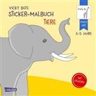 Vicky Bo, Vicky Bo - Vicky Bo's Sticker-Malbuch Tiere