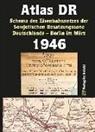 für Verkehrswesen der DDR, Ministerium für Verkehrswesen der DDR, Haral Rockstuhl, Harald Rockstuhl - Atlas DR 1946 - Schema des Eisenbahnnetzes der Sowjetischen Besatzungszone Deutschlands