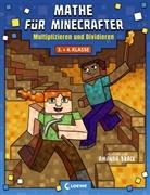 Amanda Brack, Loewe Lernen und Rätseln - Mathe für Minecrafter - Multiplizieren und Dividieren